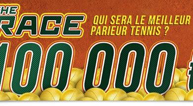 Photo of Roland Garros : 100 000€ à gagner chez Winamax