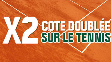 Photo of Cote doublée pour Roland Garros chez Winamax